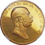 雲上の女神100コロナ金貨